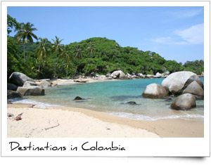touritic travel destinations colombia